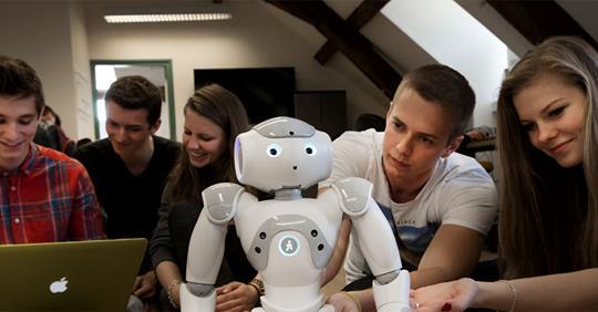 Do you love Robotics, Computers and Mathematics?
